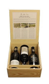 2007 Vintage Port Presentation Case (Taylors + Fonseca + Croft) , 2007