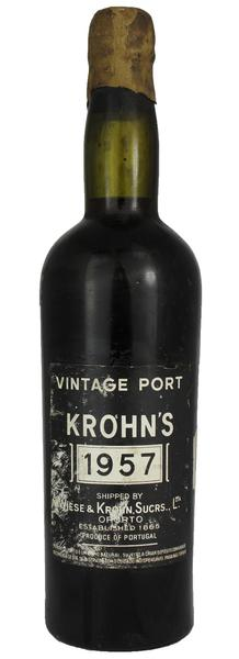 Krohn Port , 1957