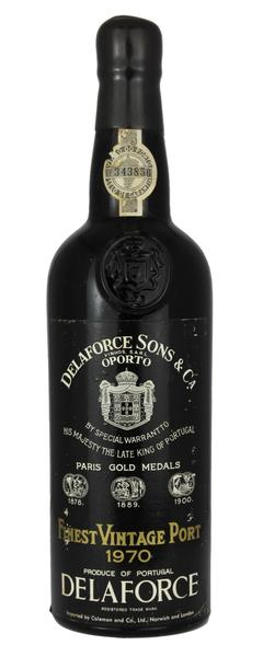 Delaforce Vintage Port, 1970