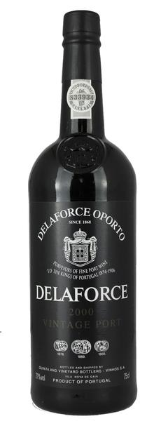 Delaforce Vintage Port, 2000