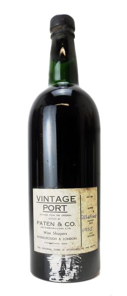 Delaforce Vintage Port, 1958