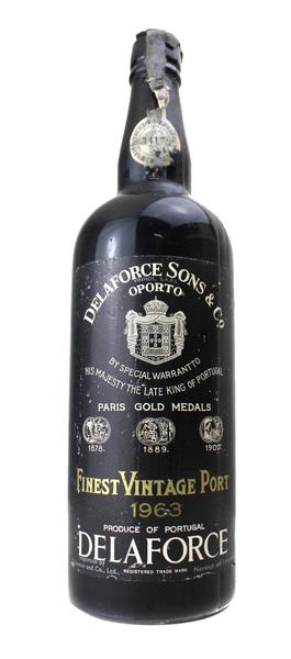 Delaforce Vintage Port, 1963